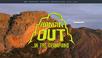Link to Hangin Out website