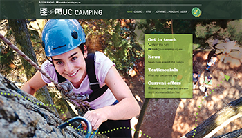 Link to UCCamping website